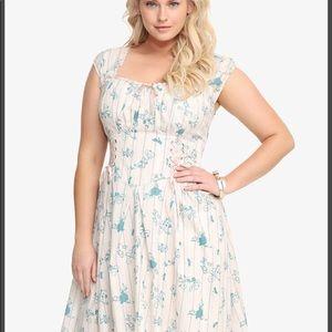 Cinderella Peasant Corset Dress